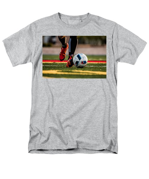 Soccer Men's T-Shirt  (Regular Fit) by Hyuntae Kim