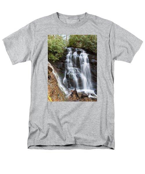 Soco Falls Men's T-Shirt  (Regular Fit) by Craig T Burgwardt