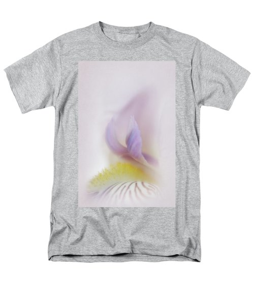 Men's T-Shirt  (Regular Fit) featuring the photograph Soft And Delicate Iris by David and Carol Kelly