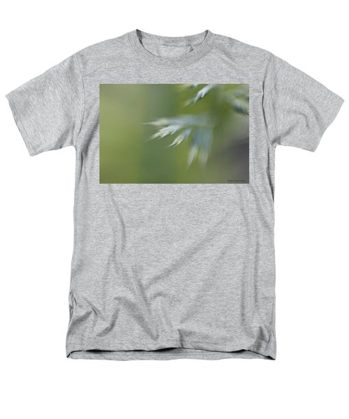 Soft Green Men's T-Shirt  (Regular Fit)