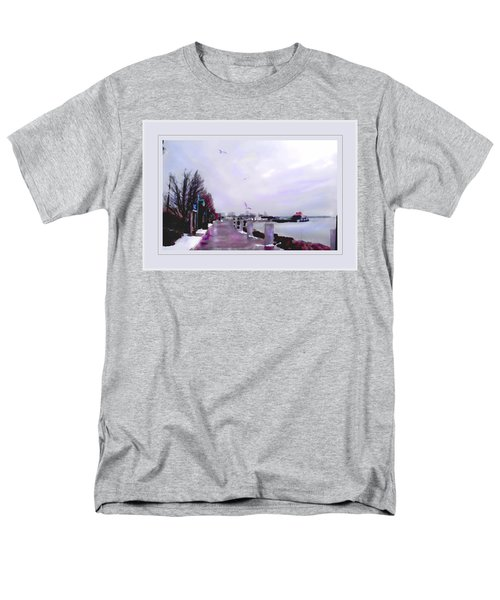 Men's T-Shirt  (Regular Fit) featuring the photograph Soft Winter Day by Felipe Adan Lerma