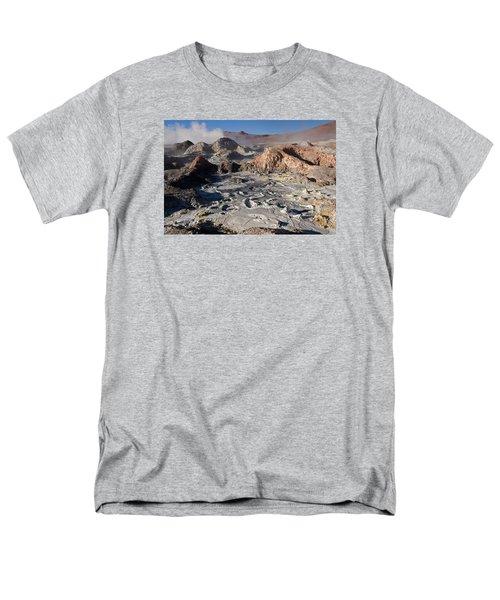 Sol De Manana Geothermal Field  Men's T-Shirt  (Regular Fit) by Aivar Mikko