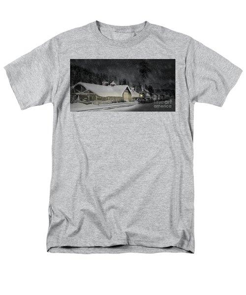 Solace From The Storm Men's T-Shirt  (Regular Fit) by Brad Allen Fine Art