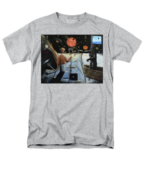 Solar Broadcast -transition- Men's T-Shirt  (Regular Fit) by Ryan Demaree