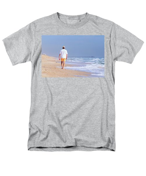 Men's T-Shirt  (Regular Fit) featuring the photograph Solitude by Keith Armstrong