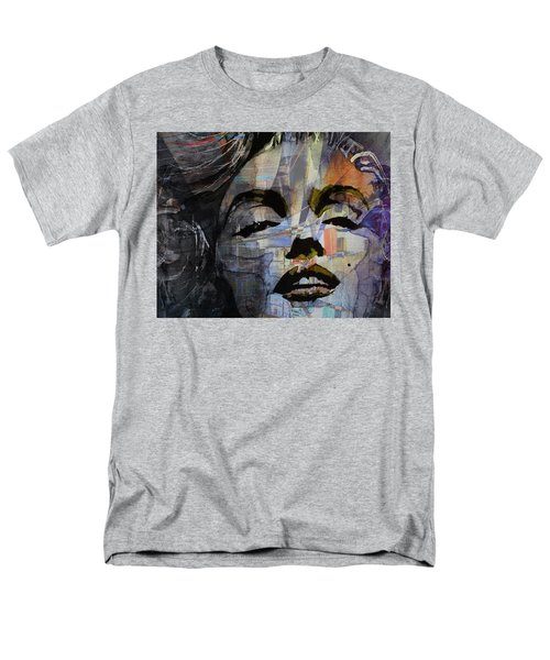 Men's T-Shirt  (Regular Fit) featuring the painting Some Like It Hot Retro by Paul Lovering