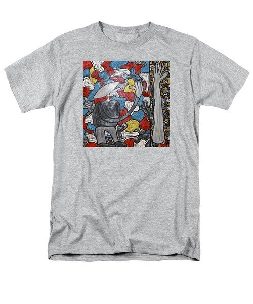 Sometimes I Feel I'm Loosing Part Of Myself Men's T-Shirt  (Regular Fit) by Mario Perron