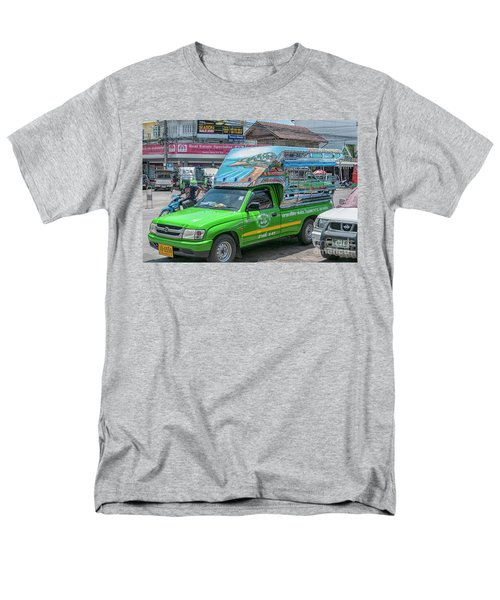 Men's T-Shirt  (Regular Fit) featuring the photograph Songthaew Minibus by Antony McAulay