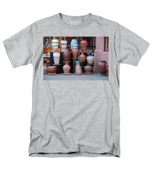 Men's T-Shirt  (Regular Fit) featuring the photograph Southwestern Potery by Rob Hans