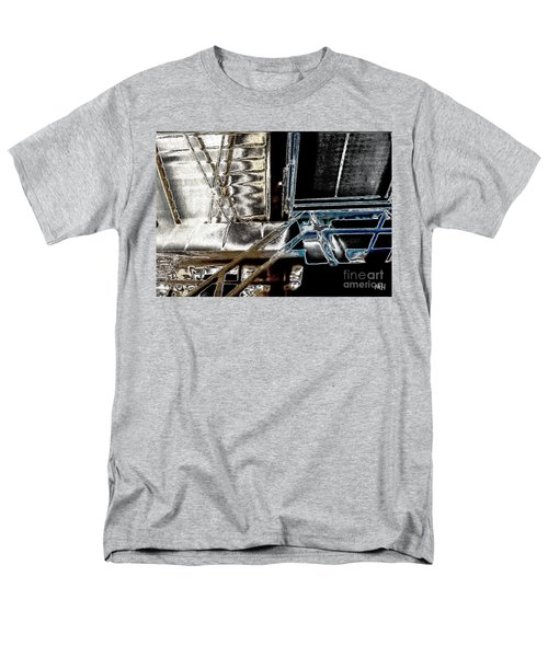 Space Station Men's T-Shirt  (Regular Fit) by Marsha Heiken