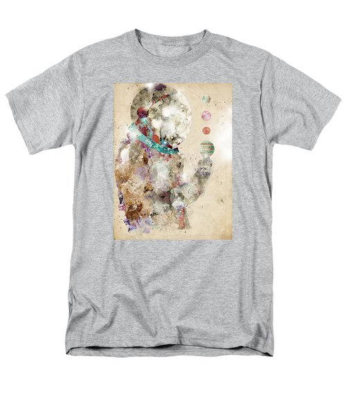 Men's T-Shirt  (Regular Fit) featuring the painting Spaceman by Bri B