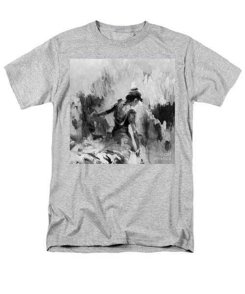 Men's T-Shirt  (Regular Fit) featuring the painting Spanish Dance 7734j by Gull G