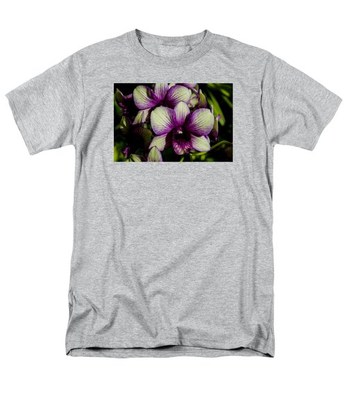 Men's T-Shirt  (Regular Fit) featuring the photograph Sparkly Moth Orchid by Deborah Smolinske