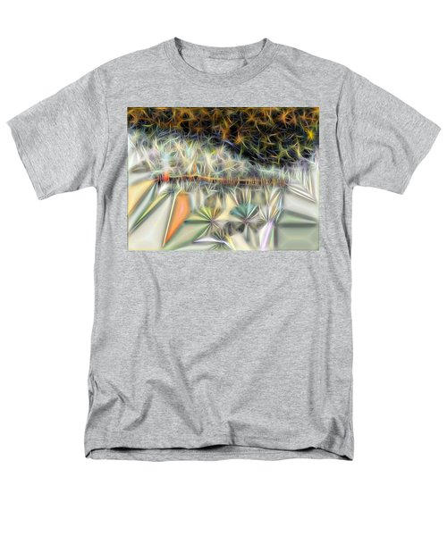 Men's T-Shirt  (Regular Fit) featuring the digital art Sparks by Ron Bissett