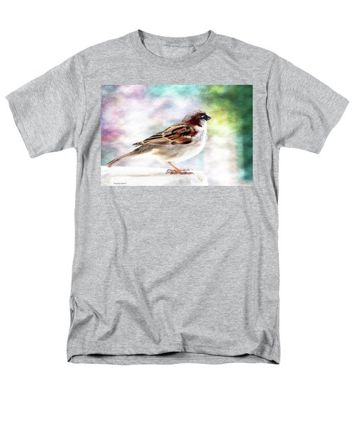 Sparrow Beauty 0004. Men's T-Shirt  (Regular Fit) by Kevin Chippindall
