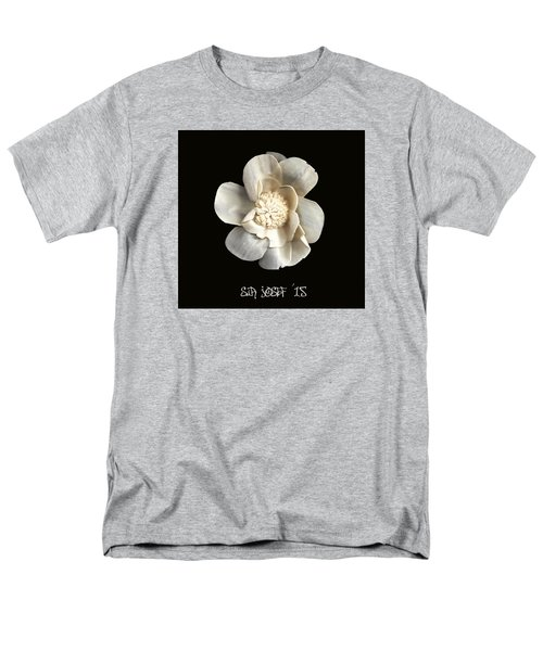 Special Magic Flower - For A Special Lady Men's T-Shirt  (Regular Fit) by Sir Josef - Social Critic -  Maha Art