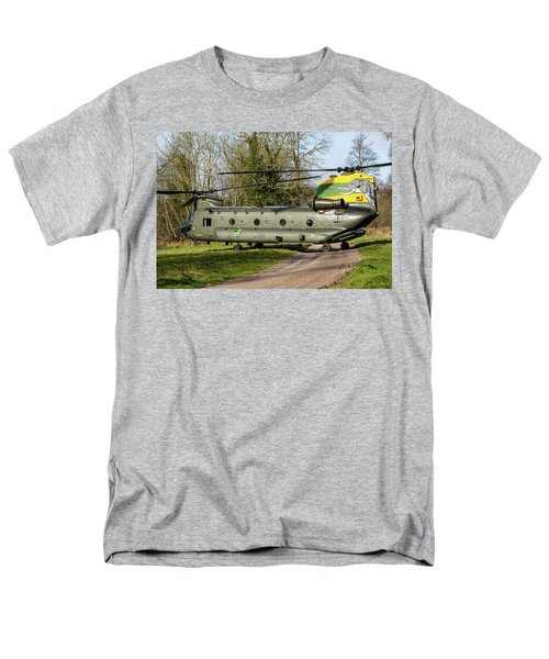 Special Tail Chinook Men's T-Shirt  (Regular Fit) by Ken Brannen