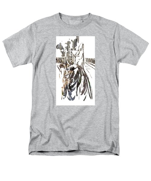 Spirit Animal . Owl Men's T-Shirt  (Regular Fit) by John Jr Gholson