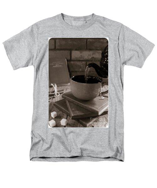 Men's T-Shirt  (Regular Fit) featuring the photograph Spot Of Tea by Deborah Klubertanz