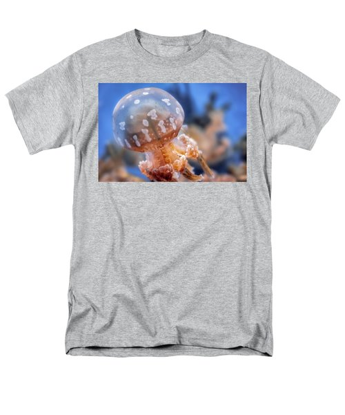 Spotted Lagoon Jellyfish Men's T-Shirt  (Regular Fit) by Anthony Citro