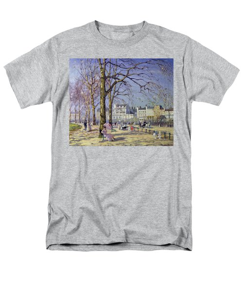 Spring In Hyde Park Men's T-Shirt  (Regular Fit) by Alice Taite Fanner