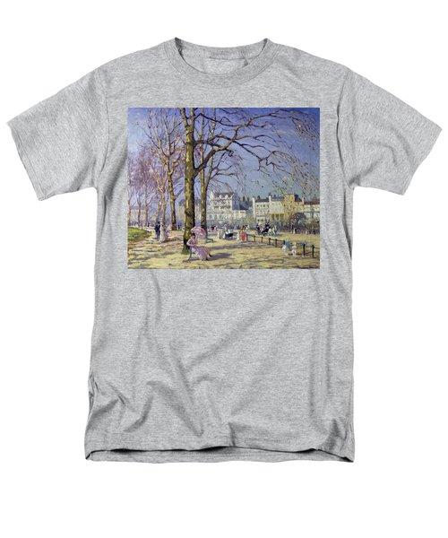 Spring In Hyde Park Men's T-Shirt  (Regular Fit) by Alice Taite Fanner