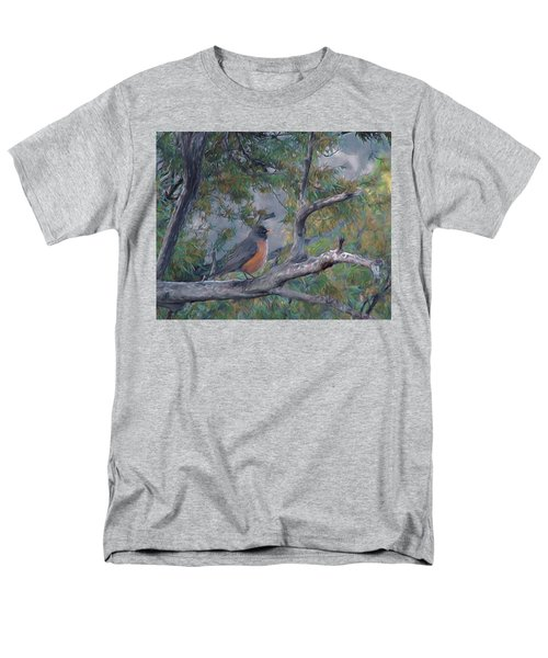 Spring Morning Robin Da Men's T-Shirt  (Regular Fit)
