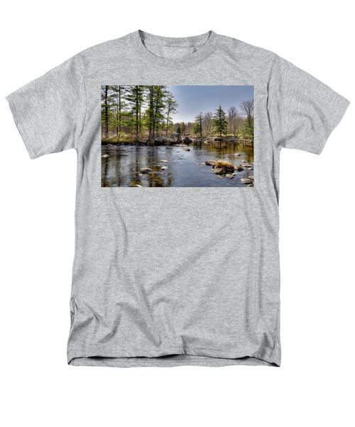 Men's T-Shirt  (Regular Fit) featuring the photograph Spring Near Moose River Road by David Patterson