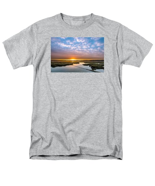 Spring Sunrise On Arcata Bay Men's T-Shirt  (Regular Fit) by Greg Nyquist