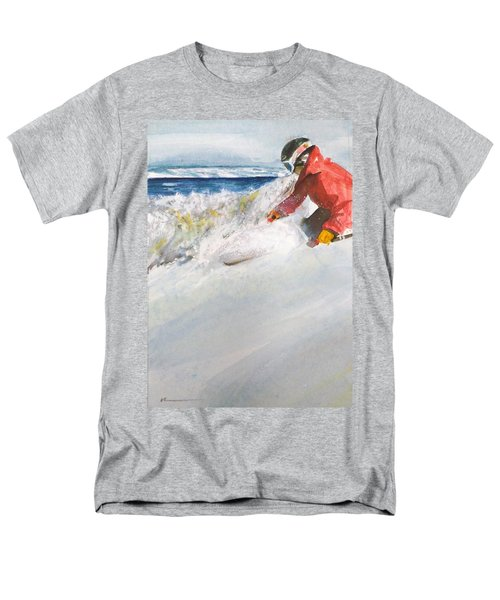 Beaver Creak Men's T-Shirt  (Regular Fit) by Ed Heaton