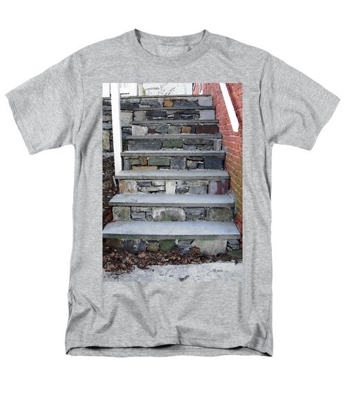 Men's T-Shirt  (Regular Fit) featuring the photograph Stairs To The Plague House by RC DeWinter