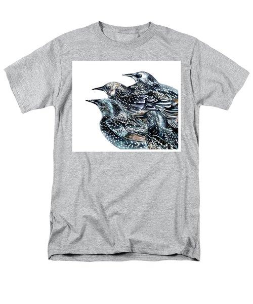 Starlings Men's T-Shirt  (Regular Fit) by Marie Burke