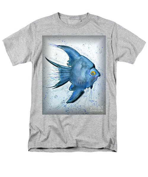 Startled Fish Men's T-Shirt  (Regular Fit) by Walt Foegelle