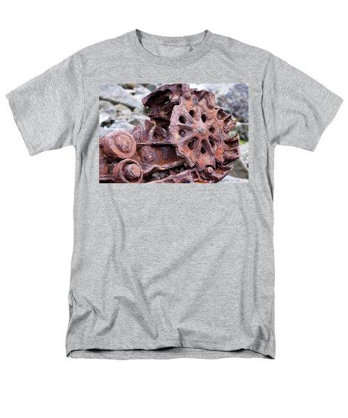 Steam Shovel Number Two Men's T-Shirt  (Regular Fit) by Kandy Hurley