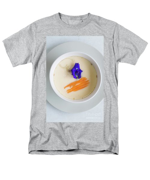 Men's T-Shirt  (Regular Fit) featuring the photograph Steamed Egg by Atiketta Sangasaeng