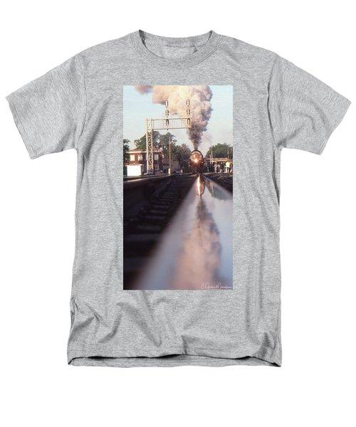 Steaming Up Men's T-Shirt  (Regular Fit) by Gordon Mooneyhan