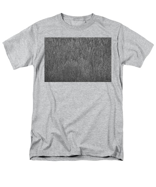 Steel Gray Grass Men's T-Shirt  (Regular Fit) by Glenn Gemmell
