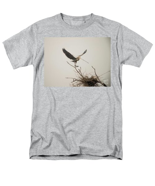 Men's T-Shirt  (Regular Fit) featuring the photograph Stick Man by David Bearden
