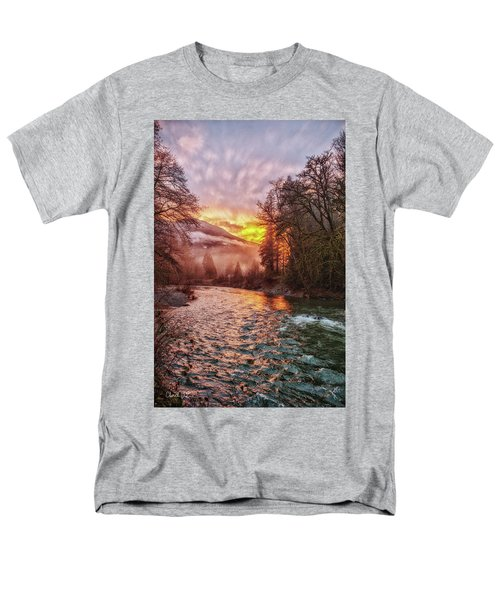 Stilly Sunset Men's T-Shirt  (Regular Fit)