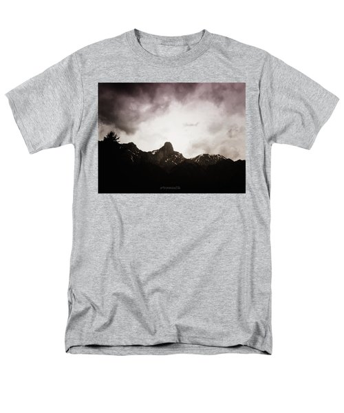 Men's T-Shirt  (Regular Fit) featuring the photograph Stockhorn by Mimulux patricia no No