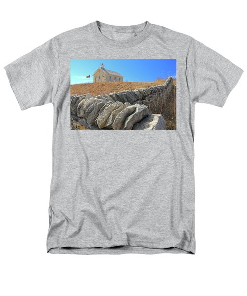 Stone Wall Education Men's T-Shirt  (Regular Fit) by Christopher McKenzie