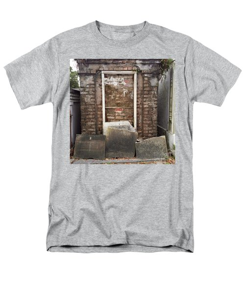 Men's T-Shirt  (Regular Fit) featuring the photograph Stones And Markers by Kim Nelson