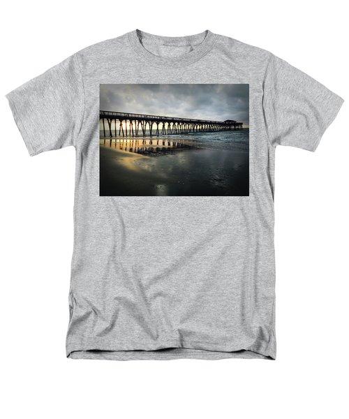 Storm At Sunrise In Color Men's T-Shirt  (Regular Fit) by Kelly Hazel