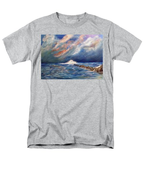 Storm Over The Ocean Men's T-Shirt  (Regular Fit) by Dorothy Maier