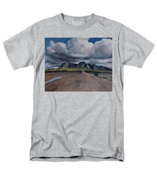Storm Over The Superstitions Men's T-Shirt  (Regular Fit) by Barbara Barber