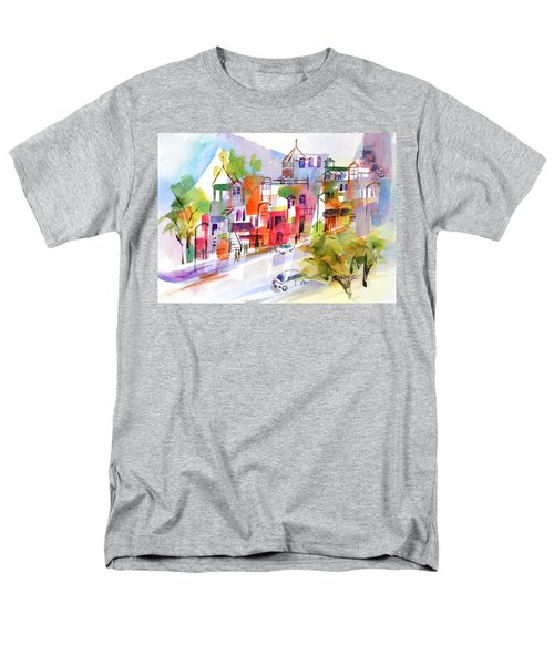 Stroll In Montreal Men's T-Shirt  (Regular Fit) by Betty M M Wong