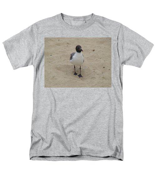Men's T-Shirt  (Regular Fit) featuring the photograph Struttin' Seagull  by Charles Kraus