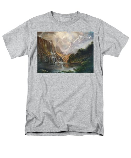 Men's T-Shirt  (Regular Fit) featuring the painting Study In Nature by Donna Tucker