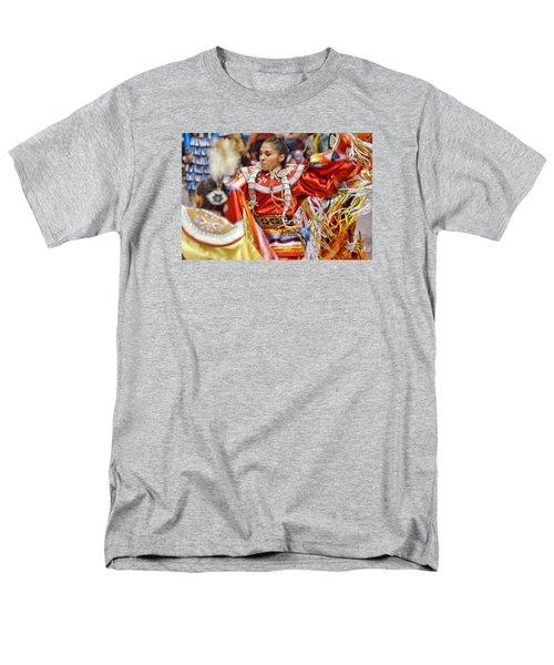 Men's T-Shirt  (Regular Fit) featuring the photograph Studying Keya Clairmont 2 by Clarice Lakota