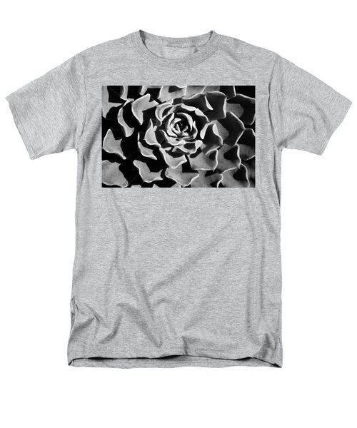 Men's T-Shirt  (Regular Fit) featuring the photograph Succulent Extrem  by Catherine Lau